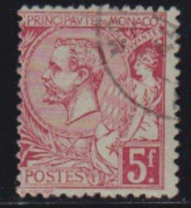Monaco 1891-1921 SC 27 USED
