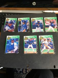 Baseball Sports Cards Complete Set 1995 Oh Henry Year of the Fan Set of 36 Diff.
