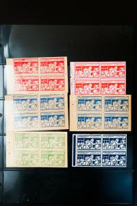 Egypt Tuberculosis Stamp Booklet Pane Collection