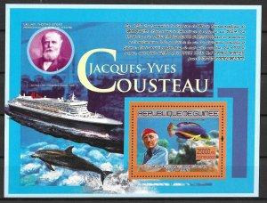 Guinea MNHN S/S Jacques Cousteau & Ship