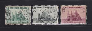 Belgium B222-B224 Set U Basilica of Koekelberg