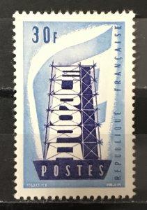 France 1956 #806, MNH, CV $4.50