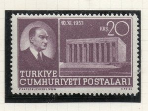 Turkey 1953 Early Issue Fine Mint Hinged 20k. NW-18192