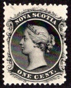Scott 8, Nova Scotia, MNHOG, 1cent, Canada