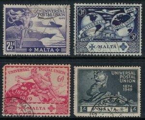 Malta #225-8  CV $5.35