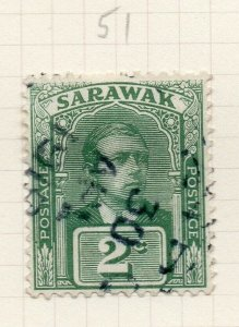 Sarawak 1918 Early Issue Fine Used 2c. 276152