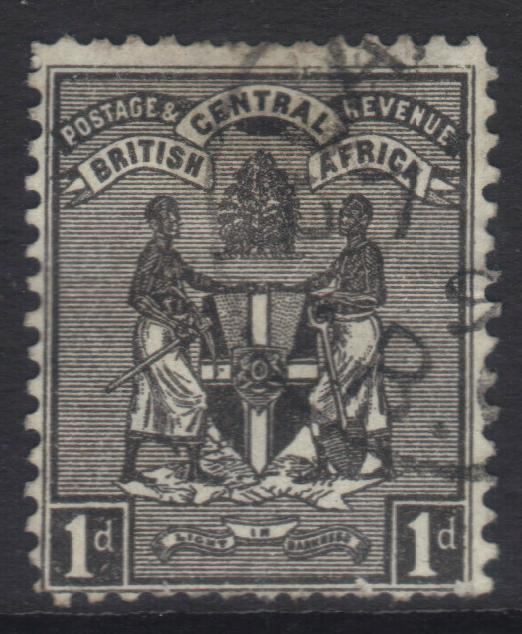 NYASALAND 1896 CROWN CA SG32 USED CAT £11
