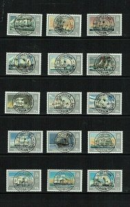 Ascension Island: 1986, Ships of the Royal Navy, definitive set, Good Used (cto)