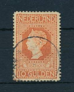 [107814] Netherlands 1913 10 Gulden Independence Not perfect Value for money