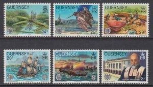 Guernsey 240-245 MNH VF