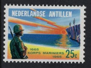 Netherlands Antilles  #301  1965 MNH marine corps
