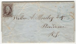 #1 Used on Envelope with Full Letter - Interesting (GP2 7/15/19)