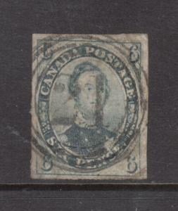 Canada #5b VF Used With 4 Ring 21 Cancel