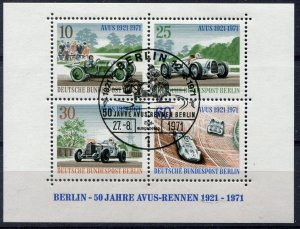 Berlin   Block 3  Cancelled  FDC