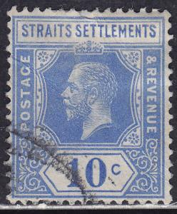Straights Settlements 159 USED 1918 King George V