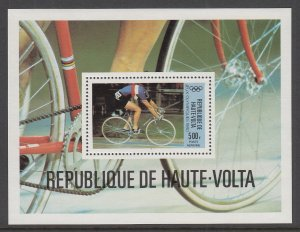 Burkina Faso C262 Cycling Souvenir Sheet MNH VF