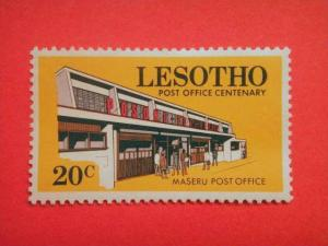 LESOTHO, 1972, MH 20c, Centenary of Post Office.