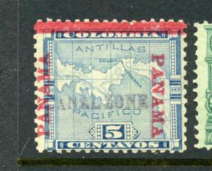 Canal Zone Scott #2 Unused Stamp w/APS Cert  (Stock #CZ2-44)