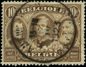 Belgium Scott #122 Used