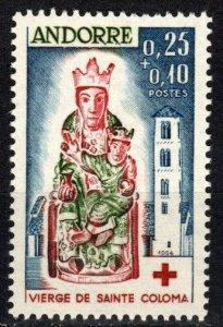 Andorra (Fr) #B1 MNH  CV $24.00  (P572)