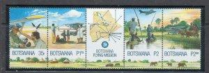 Botswana 704a MNH 2000 Botswana Flying Mission (ap7036)