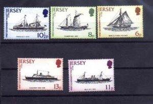 024773 OCEAN SHIPS JERSEY set MNH#24773