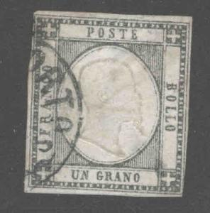 Neapolitan Provinces Scott 21 Used CV $37.50