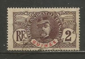 French Guinea   #34  Used  (1906)  c.v. $1.20