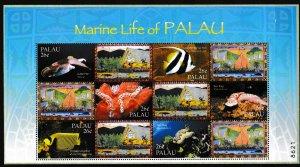 Palau - Marine Life - S.S.- MNH