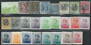 Serbia #87-89,91,93108-10,112-16,118-21,126 + (U&M) CV$36.30
