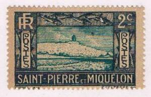 St Pierre and Miquelon 137 MLH Lighthouse 1932 (S0970)