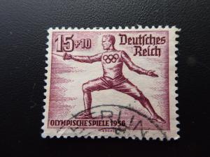 Germany Deutsches Reich  1936  Sc #B87