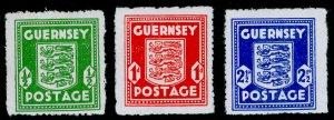 SG1-3, COMPLETE SET, M MINT. Cat £22. GUERNSEY