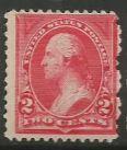 U.S. Scott #250 Washington Stamp - Mint Single