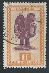 Belgian Congo #239 1fr Mbuta