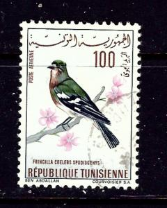 Tunisia C28 Used 1965 Bird