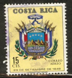 Costa Rica Scott C517 used  Airmail
