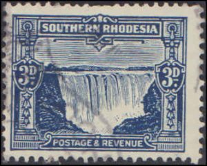 Southern Rhodesia #20, Incomplete Set, 1931-1937, Used