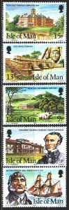 Isle Of Man. 1980. 173-77. Kermode family in Tasmania. MNH.