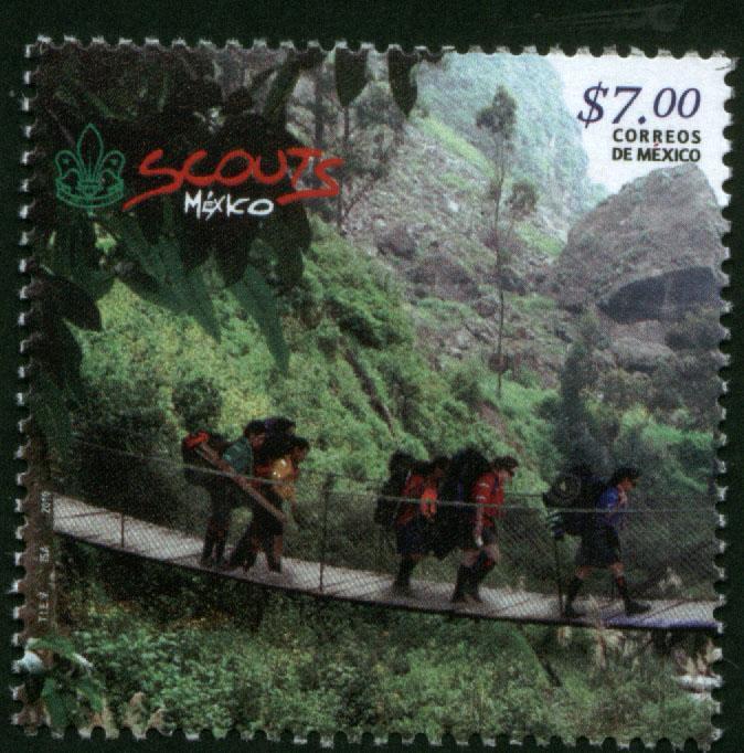 MEXICO 2681, Scouts commemorative MINT, NH. VF.