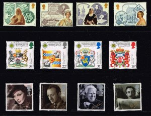 UK STAMP MNH STAMPS COLLECTION LOT  #F3