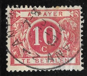 Belgium #J5 10c Numeral