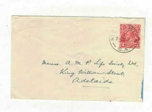 APH1498) Australia 1931 2d Red KGV Die I Small Cover