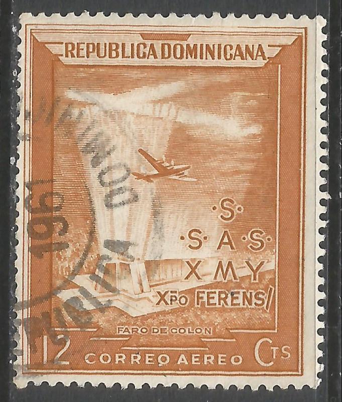 DOMINICAN REPUBLIC C80 VFU 29G