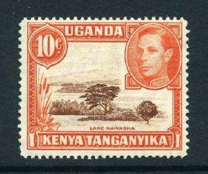 Kenya Uganda Tang KUT 1938 KGVI 10c p14 SG 134b mint