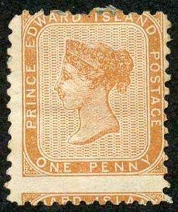 Prince Edward Is  SG6 1862-89 1d Brown-orange Perf 11 M/M Cat 120 pounds