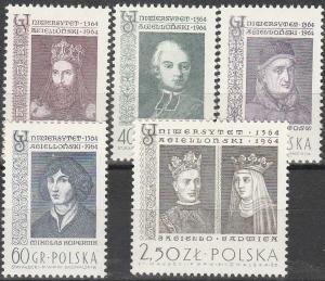 Poland #1226-30 MNH F-VF (SU3271L)