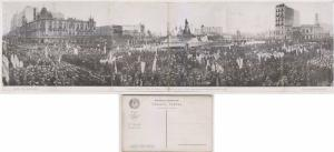 ARGENTINA 1916 MULTIPLE PPC NATIONAL EUCHARISTIC CONGRESS WITH 6 CARDS XRARE!