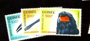 GUINEA #C41-3 MINT VF OG NH Cat $20