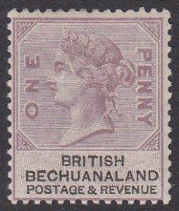Bechuanaland 11, SG10 MLH CV $29.00